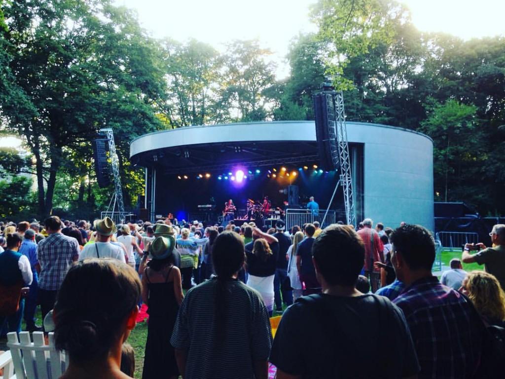 Stage at the Kurpark Hamm