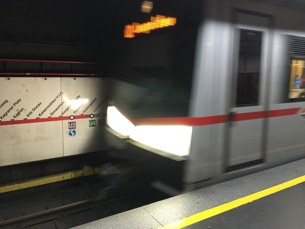 Vienna Subway Train