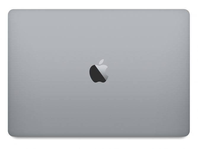 Apple Marketing Photo of the MacBookPro 2016