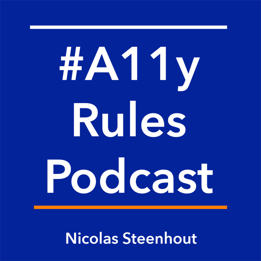 #A11y Rules Podcast artwork